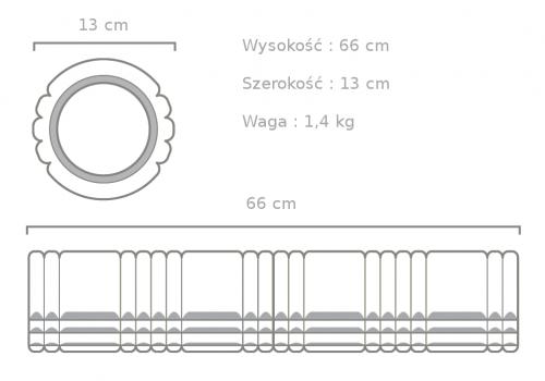 Roller Grid 2.0 wymiary