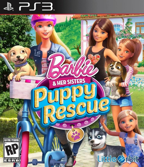 Barbie and Her Sisters Puppy Rescue ( 2015) PS3 - Duplex