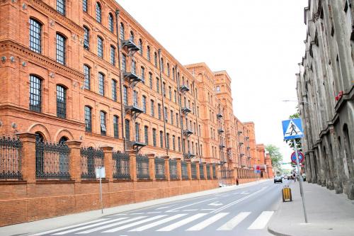 jedna z wielu ulic w Łodzi