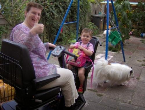 skuter inwalidzki elektryczny calipso zielone