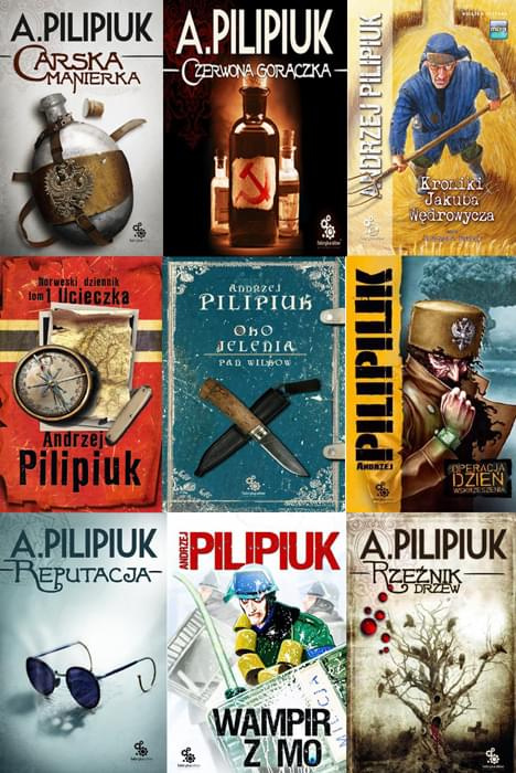 Pilipiuk Andrzej - 24 audiobooki [AudioBook PL]