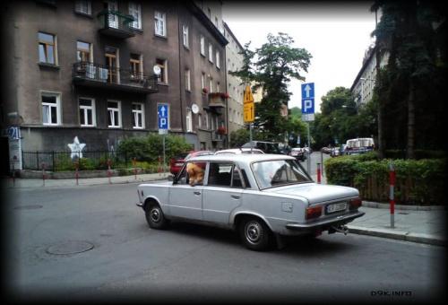 Polski fiat 125. Pieseł included