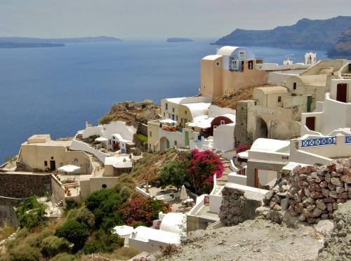 Santorini bez wiatraka