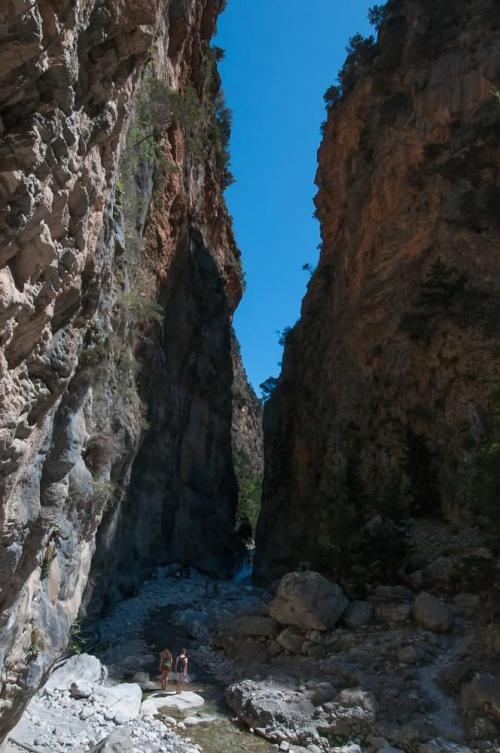 Samaria. Kreta. Grecja